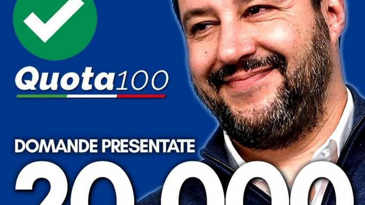 foto di Salvini con espressione soddisfatto