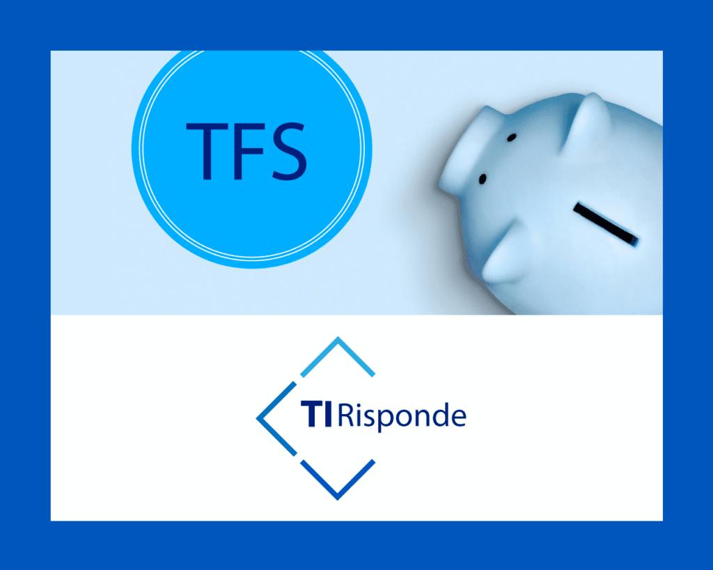 Sai cos'è il TFS? Buonuscita anticipata per dipendenti pubblici e statali