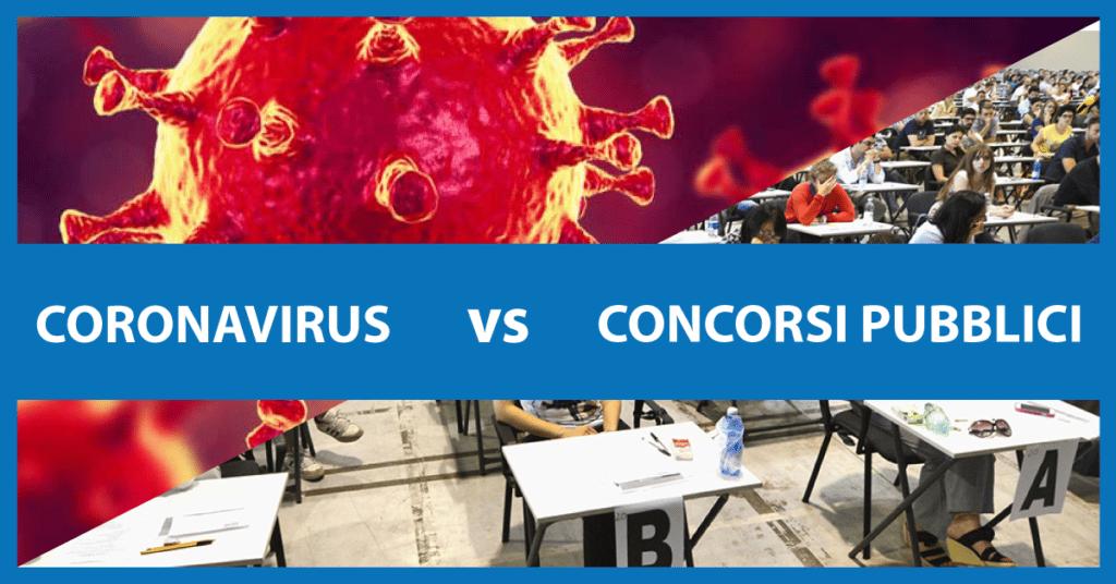 CONCORSI PUBBLICI: verranno rimandati a causa del Coronavirus?